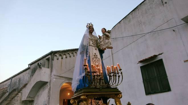 Ravello. Festeggiamenti della Madonna delle Grazie a S. Pietro alla Costa