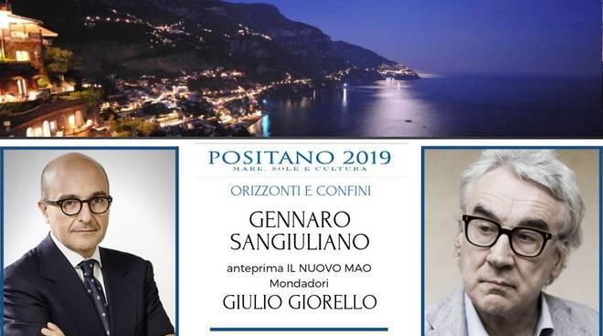 Terrazza Le Agavi con Gennaro Sangiuliano e Giulio Giorello mare sole e cultura