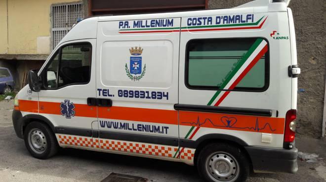 Ambulanza a Pogerola