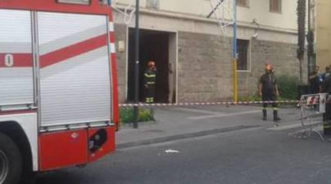 Bomba ad Avellino
