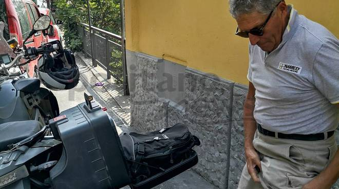 costiera amalfitana caos viabilità bus motorini