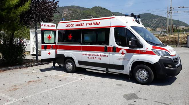 Croce Rossa Costa d'Amalfi ambulanza Daniela Volpe