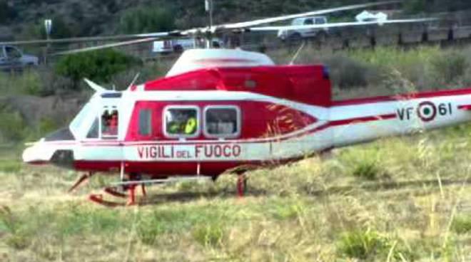 elicottero vigili