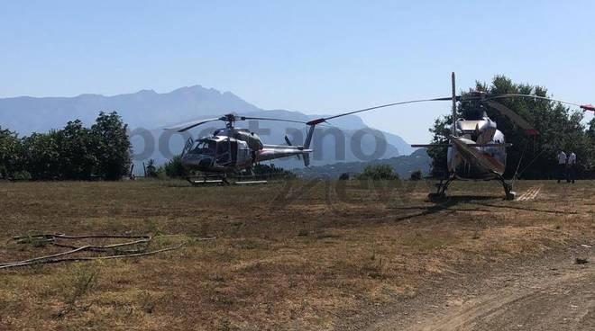 immagini esclusive elicotteri matrimonio di heidi klum
