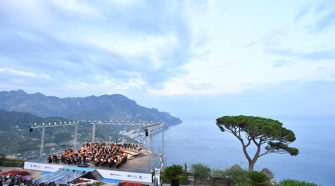 Ravello Festival concerto Verdi presente presidente B occia