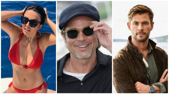 Sabrina Ferilli Brad Pitt Chris Hemsworth