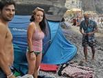 viaggio in tenda per il sud