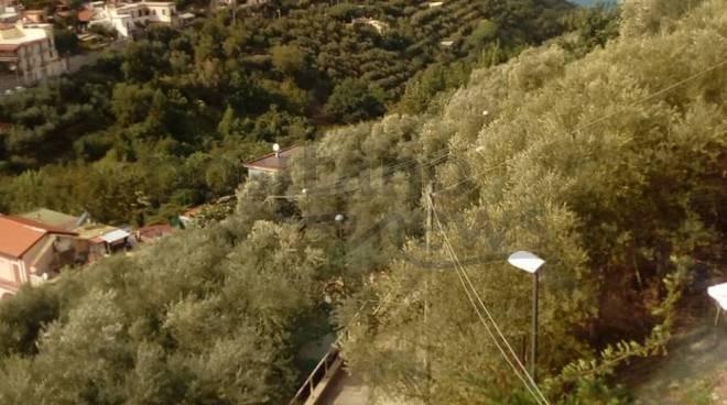 Alberi, la strada abbandonata: gli abitanti in difficoltà