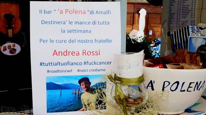 Amalfi. Continua la gara di solidarietà per Andrea