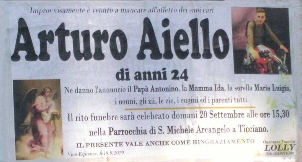 Arturo Aiello manifesto