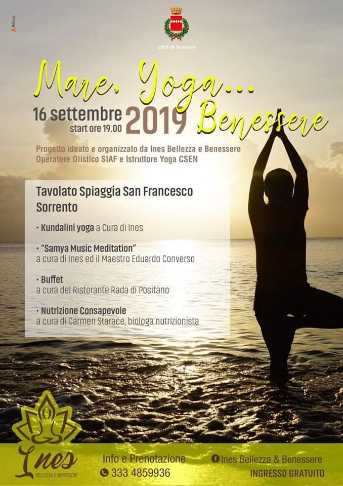 Mare,Yoga... Benessere