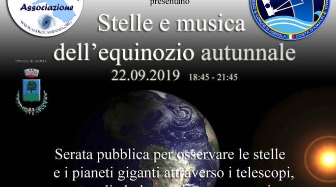 Stelle e musica dell'equinozio d'autunno 2019