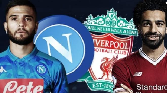 Champions,  Martedì 17  Napoli-Liverpool su Canale 5