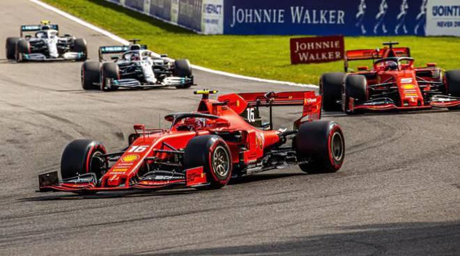 Leclerc: trionfo Ferrari nel Gp del Belgio