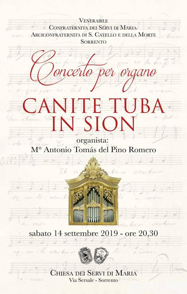 Concerto per organo alla chiesa dei Servi di Maria