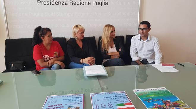 Conferenza alla Regione Puglia