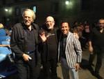Foto Pino Cotarelli - Mariano Rigillo, Giuseppe Panariello e Giacomo Rizzo