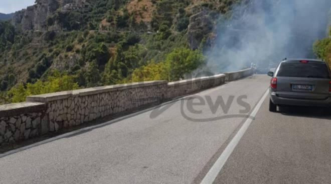Incendio Tordigliano