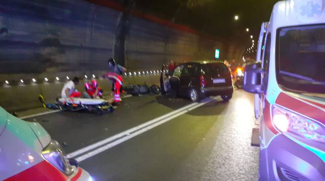 incidente galleria varano