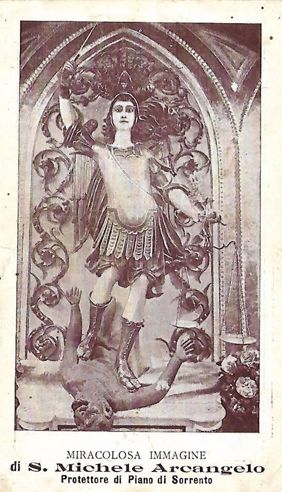 La festa di San Michele mezzo secolo fà