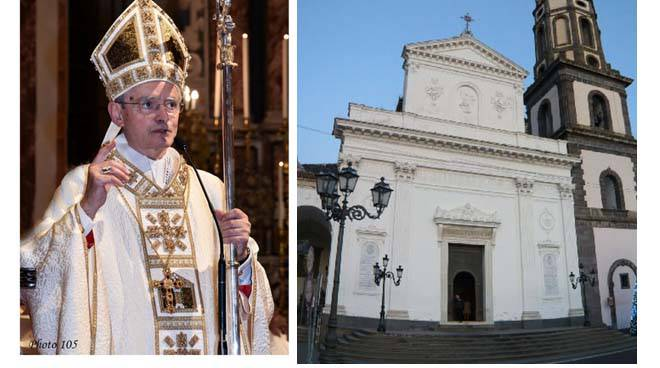 Monsignor Aiello a Meta