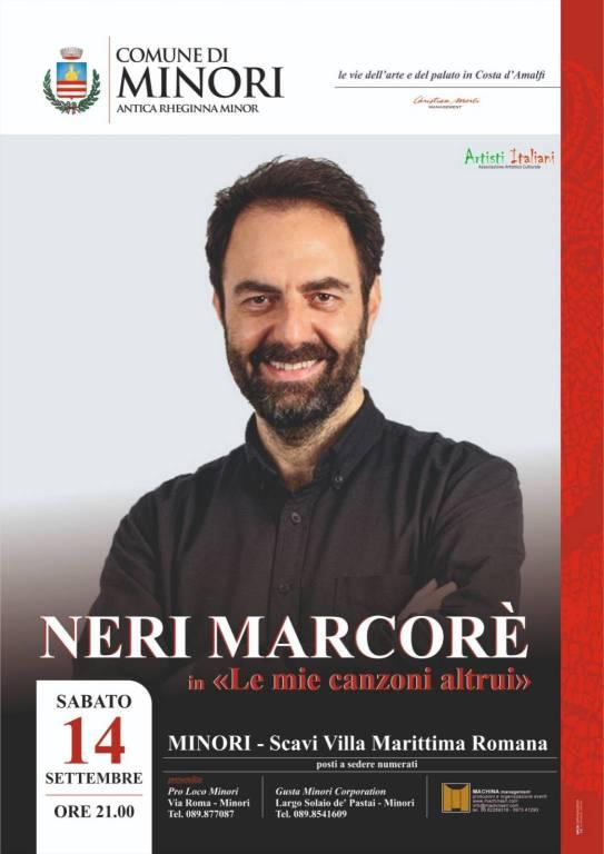 Neri Marcorè a Minori il 14 Settembre 2019