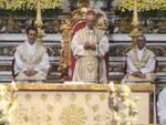 Piano di Sorrento, commozione alla Messa di San Michele del Vescovo Arturo Aiello