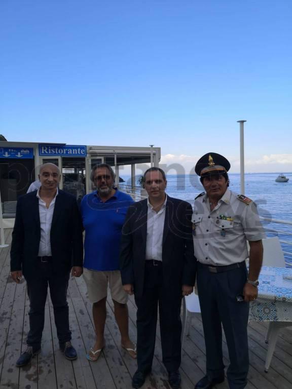 Piano di Sorrento, grande successo la pulizia dei fondali a Marina di Cassano