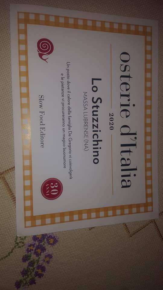 premio slow food osteria d'italia