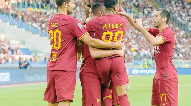 Roma, Kluivert candida i giallorossi: