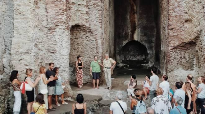 Sorrento, nifei romani della villa di Agrippa Postumo