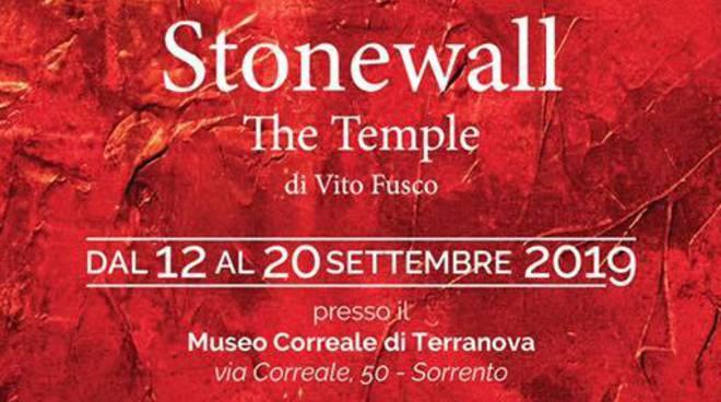 """Sorrento-Positano. In occasione del Gay Pride Vito Fusco presenterà la sua mostra """"Stonewall The Temple"""""""