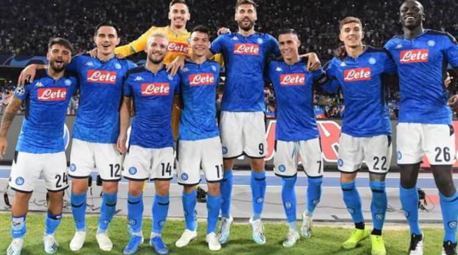 un Napoli che  fa sognarei tifosi