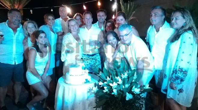 vent'anni di matrimonio white party
