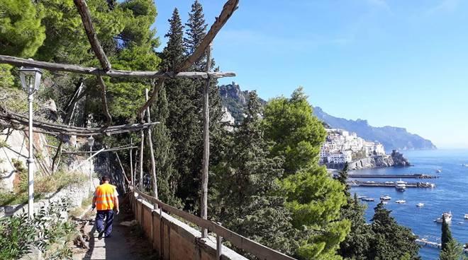 Amalfi passeggiata Longfellow
