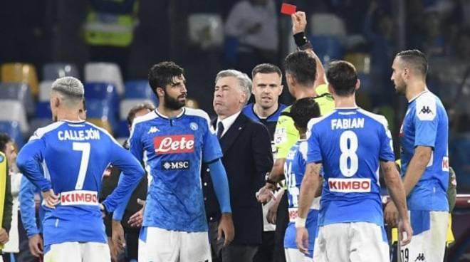 Ancelotti squalificato Napoli