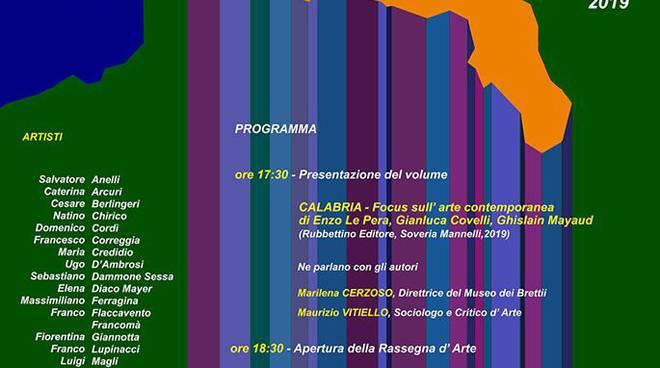 CALABRIA Focus sull'arte contemporanea, Rubbettino Editore