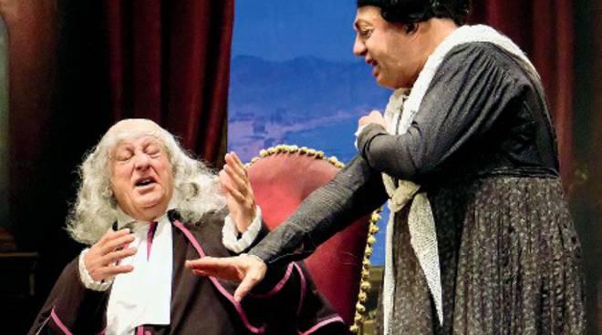 """Peppe Barra in scena con \""""I cavalli di Monsignor Perrelli\"""""""