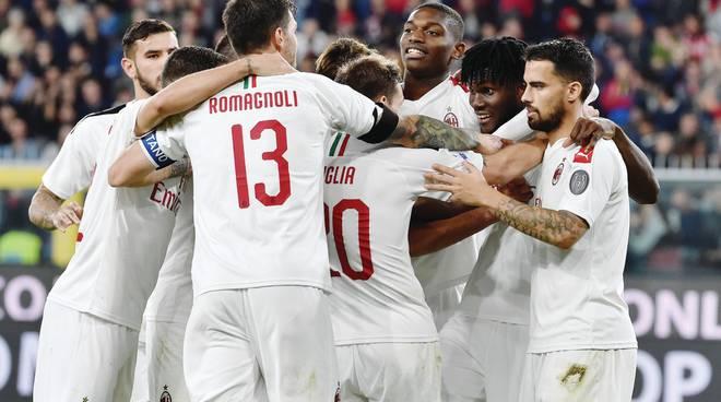 Giampaolo,bravi ragazzi -ll Milan soffre, rimonta e torna a vincere