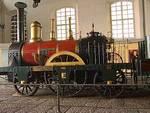 l doodle di Google sulI'inaugurazione della prima linea ferroviaria italiana