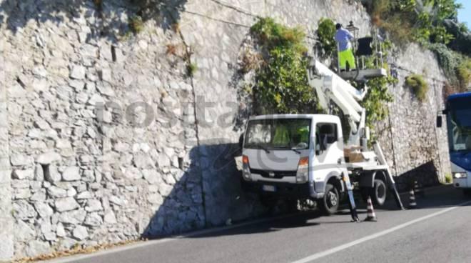 manutenzione strada maiori e minori