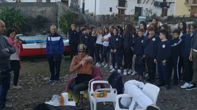 Massa Lubrense: Salvatore Cimmino pronto per la traversata con il sostegno degli studenti