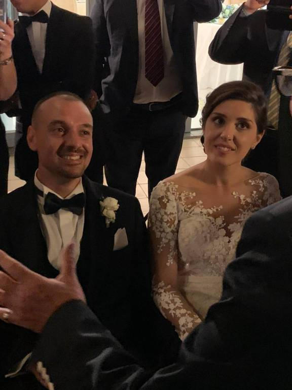 Matrimonio da favola per Vittorio Cobalto e Clara Tipaldi