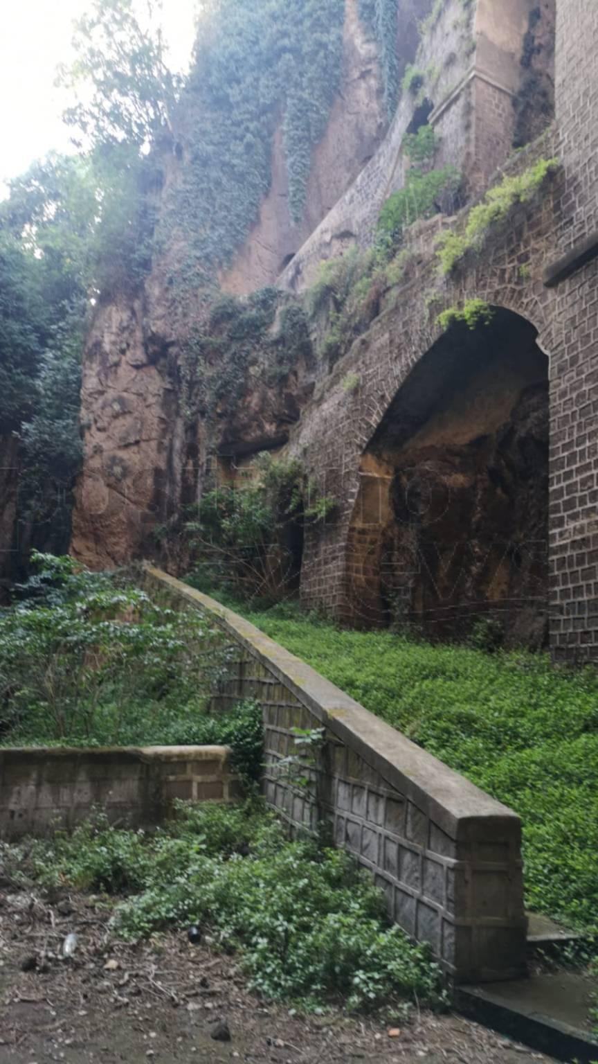 Piano di Sorrento Sant'Agnello la scala nel Vallone Lavinola