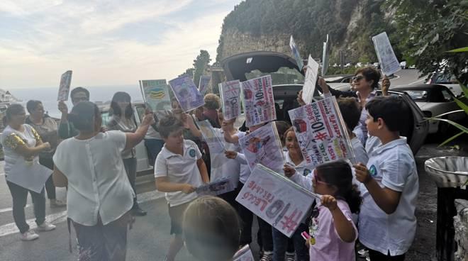 Positano, #io leggo perchè da Montepertuso a Sorrento con Positanonews