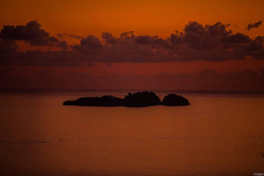Positano. La suggestione del tramonto di Fabio Fusco, la luce che crea il colore