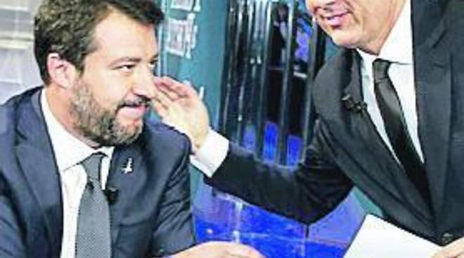 Renzi contro Salvini