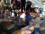 Sant'Agnello, il mercatino nei pressi della stazione: lavori in Viale dei Pini