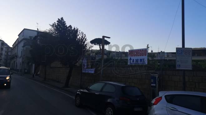 Sant'Agnello parcheggio San Sergio