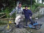Elias dall\'Austria fino in Grecia in bicicletta inseguendo un sogno green